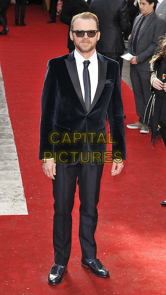 LONDON, ENGLAND - MARCH 29: Simon Pegg attends the Jameson Empire Film Awards 2015, Grosvenor House Hotel, Park Lane, on Sunday March 29, 2015 in London, England, UK. <br /> CAP/CAN<br /> &copy;CAN/Capital Pictures