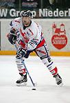 Eishockey, DEL, Deutsche Eishockey Liga 2003/2004 , 1.Bundesliga, Arena Nuernberg (Germany) Nuernberg Ice Tigers - Adler Mannheim (2:1 n.p.) Liam Garvey (IceTigers) am Puck