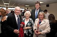 David and Philomena Davies (left) with Robert and Sharon Lockwood
