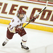 Taylor Wasylk (BC - 9) led the Eagles in points following this game with 6 goals and 6 assists. - The Boston College Eagles defeated the visiting Brown University Bears 5-2 on Sunday, October 24, 2010, at Conte Forum in Chestnut Hill, Massachusetts.