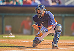 7 March 2013: Houston Astros catcher Jason Castro in action during a Spring Training game against the Washington Nationals at Osceola County Stadium in Kissimmee, Florida. The Astros defeated the Nationals 4-2 in Grapefruit League play. Mandatory Credit: Ed Wolfstein Photo *** RAW (NEF) Image File Available ***