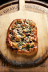 Mojo chicken flatbread at Barrel 44 in Bexley.(Jodi Miller/Alive)