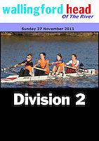 Wallingford Head 2011-Div2