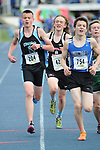 1475<br /> <br /> Chugiak&rsquo;s Hyrum Nelson in the 3200 meter run on Friday. Photo for the Star by Michael Dinneen