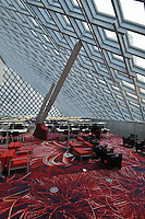 Seattle Central Library, Principal Architects: Rem Koolhaas and Joshua Prince-Ramus of OMA/LMN, Seattle, Washington, USA