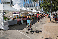 Austin Farmers Market- local organic sustainable homegrown garden produce -Stock Photo Image Gallery