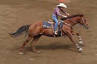 Riders compete in the Northwest Junior Rodeo Association in Oakville, Wash. on September 11, 2016. The event took place all weekend and included hundreds of people and animals. (© Karen Ducey Photography)