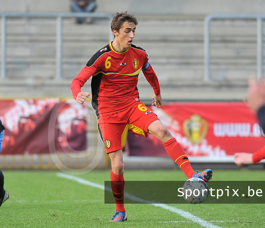 Belgium U19 - England U19 : Julien De Sart.foto DAVID CATRY / Nikonpro.be