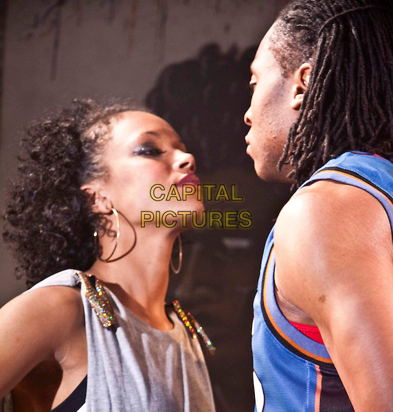 LUCY STANHOPE-BOSUMPIM & ARINZE KENE.in Freestyle.*Filmstill - Editorial Use Only*.CAP/PLF.Supplied by Capital Pictures.