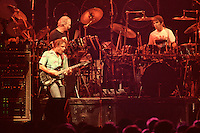 "Bob Weir, Bill Kreutzmann & Mickey Hart performing with The Grateful Dead Live at The Hampton Coliseum on 8 October 1989. One of the ""Formerly The Warlocks"" concerts. Limited Edition Photographic Prints available for purchase in Cart."