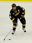 1 December 2007: University of Vermont Catamounts' forward Dean Strong, a Junior from Mississauga, Ontario, in action against the Providence College Friars at Gutterson Fieldhouse in Burlington, Vermont. The Friars defeated the Catamounts 4-0 in front of a capacity crowd of 4003, for the 64th consecutive sell-out at Gutterson...Mandatory Photo Credit: Ed Wolfstein Photo