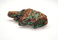 COPPER SPECIMEN (LUMP) - Cu  Elemental Copper is ductile, malleable and sectile