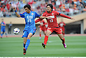 (R-L) Shinzo Koroki (Antlers), Qiu Tianyi (Shanghai), MAY 3rd, 2011 - Football : AFC Champions League Group H match between Kashima Antlers 2-0 Shanghai Shenhua at National Stadium in Tokyo, Japan. (Photo by Takamoto Tokuhara/AFLO).