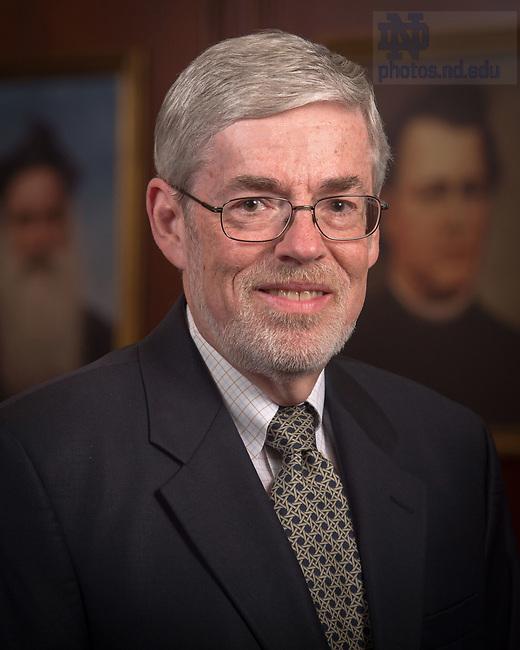 April 12, 2017; Scott Maxwell, Emeritus faculty portrait (Photo by Matt Cashore/University of Notre Dame)