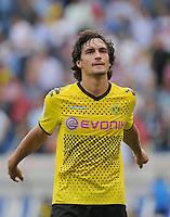 FUSSBALL   1. BUNDESLIGA  SAISON 2011/2012   2. Spieltag   13.08.2011 TSG 1899 Hoffenheim - Borussia Dortmund  Enttaeuschung Borussia Dortmund: Mats Hummels
