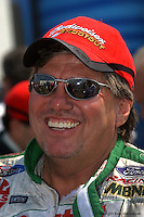 INDIANAPOLIS, IN - SEPTEMBER 6: John Force at the NHRA Mac Tools US Nationals on September 6, 2002, at Raceway Park near Indianapolis, Indiana.