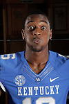 UK Football 2012: The faces of La'Rod King
