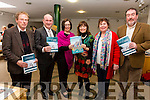 Pictured at the Launch of the Skellig Coast Visitor Experience Development Plan in Waterville on Wednesday were l-r; Michael  J.O'Connor(Caherdaniel), Vincent Kidd(Valentia), Moira Murrell(KCC), Lucy Hunt(Waterville), Jeannett McDonnell(Tour Guide Kerry) & Frank Curran(Cahersiveen).