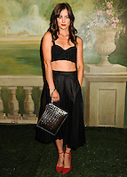 NEW YORK CITY, NY, USA - SEPTEMBER 08: Jessica Stroup arrives at the alice + olivia by Stacey Bendet Spring 2015 NYFW Presentation held at The Pierre Hotel on September 8, 2014 in New York City, New York, United States. (Photo by Celebrity Monitor)