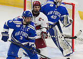 Johnny Hrabovsky (AFA - 3), Alexander Kerfoot (Harvard - 14) - The Harvard University Crimson defeated the Air Force Academy Falcons 3-2 in the NCAA East Regional final on Saturday, March 25, 2017, at the Dunkin' Donuts Center in Providence, Rhode Island.