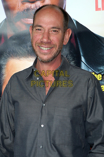 """MIGUEL FERRER.Los Angeles Premiere Of """"The Man"""" held at the Arclight Theatre, Hollywood, CA..September 6th, 2005.Photo credit: Jacqui Wong/Admedia.half length blue shirt facial hair.www.capitalpictures.com.sales@capitalpictures.com.© Capital Pictures."""