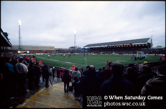 Burnden Park, former home of Bolton Wanderers FC. Photo by Tony Davis