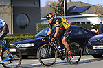 Philippe Gilbert (BEL) Quick-Step Floors with 12k to go during the 60th edition of the Record Bank E3 Harelbeke 2017, Flanders, Belgium. 24th March 2017.<br /> Picture: Eoin Clarke | Cyclefile<br /> <br /> <br /> All photos usage must carry mandatory copyright credit (&copy; Cyclefile | Eoin Clarke)