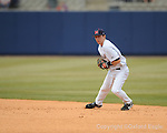 Ole Miss second baseman Alex Yarbrough vs. Louisiana-Monroe at Oxford-University Stadium in Oxford, Miss. on Sunday, February 21, 2010.