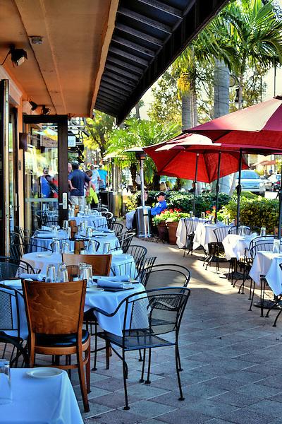 Outdoor café seating in naples florida encircle photos