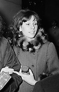 Manhattan, New York City, New York State, USA --- Vicki Budinger, the fiancee of singer Tiny Tim, at a demonstration outside the Waldorf Astoria Hotel in New York City. --- Image by © JP Laffont/Sygma/CORBIS