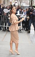 FEB 22 Eva Longoria Arriving at The View