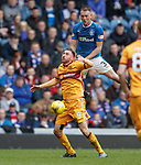 Clint Hill and Louis Moult