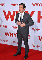 Actor Adam Devine at the world premiere of &quot;Why Him?&quot; at the Regency Bruin Theatre, Westwood. December 17, 2016<br /> Picture: Paul Smith/Featureflash/SilverHub 0208 004 5359/ 07711 972644 Editors@silverhubmedia.com