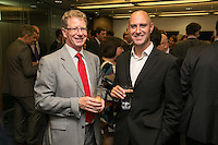 Dave Mead of Neozymes (left) with Ed Wright of Shakepeares