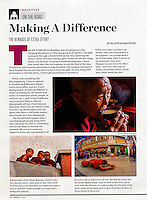 "Shutterbug Magazine Column ""On the Road"""