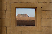 Morocco - Oasis of Fint - The mountains surrounding the Oasis of Fint, seen from the K Studios. The Oasis has been the set of several well-known movies, including Lawrence of Arabia, Jesus of Nazareth, Alibaba, Moses and Cleopatra.