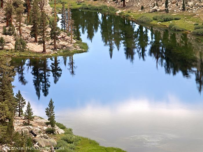 Lake Reflections, High Sierra