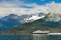 Fast Ferry Chenega, Passage canal, Prince William Sound, Alaska.