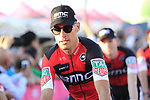 Manuel Quinziato (ITA) BMC Racing Team at the Team Presentation in Alghero, Sardinia for the 100th edition of the Giro d'Italia 2017, Sardinia, Italy. 4th May 2017.<br /> Picture: Eoin Clarke | Cyclefile<br /> <br /> <br /> All photos usage must carry mandatory copyright credit (&copy; Cyclefile | Eoin Clarke)