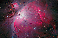 M42, Orion Nebula, an Emission Nebula in Orion
