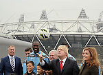 22/03/2013 - London Olympic Stadium announcement - Stratford - London