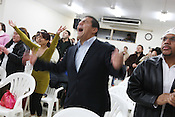 Brazilian attendees at the Protestant church 'Missao Apoio Em Toyota', an evangelical Protestant church, in Toyota city, Japan, Sunday, January 27th 2008.