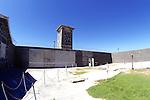 Court Yard In Prison