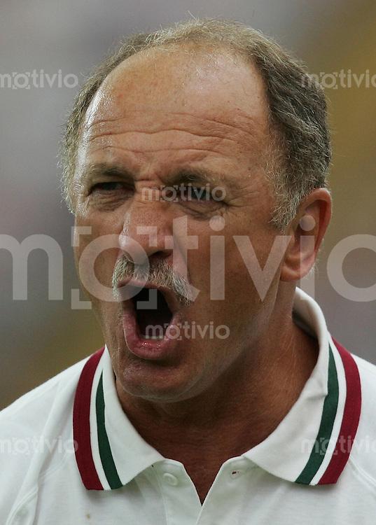 Fussball WM 2006  Gruppenspiel  Vorrunde Gruppe D  Portugal - Iran  Trainer Luiz Felipe SCOLARI (POR) gestikuliert
