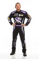 Feb 10, 2016; Pomona, CA, USA; NHRA funny car driver Jack Beckman poses for a portrait during media day at Auto Club Raceway at Pomona. Mandatory Credit: Mark J. Rebilas-USA TODAY Sports