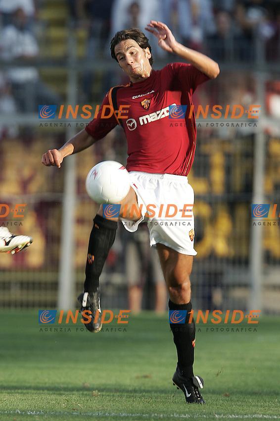 Perugia 25/8/2004 Perugia Roma 2-1 Giuseppe Scurto (Roma)<br /> Foto Andrea Staccioli Insidefoto