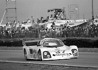 #37 Mazda Tiga GT 285 of Tom Burdsall, Pete Weller, Nick Nicholson races to a 14th place finish at the 12 Hours of Sebring, at Sebring Raceway, Sebring, FL, March 23, 1985.  (Photo by Brian Cleary/www.bcpix.com)