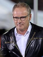 FUSSBALL  DFB-POKAL  HALBFINALE  SAISON 2012/2013    FC Bayern Muenchen - VfL Wolfsburg            16.04.2013 TV Moderator Reinhold Beckmann (ARD)