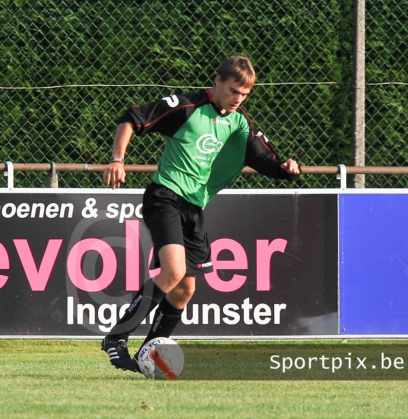 SC Beernem : Olivier Van Kerrebroeck.foto VDB / BART VANDENBROUCKE