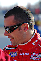 Dario Franchitti before the NASCAR race Memphis Motorsports Park 2007.